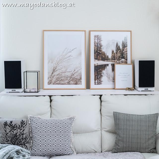 Dekoration im Wohnzimmer