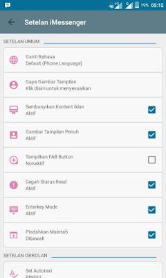 BBM iMessenger V6 ( Change DP ) - Update 2016