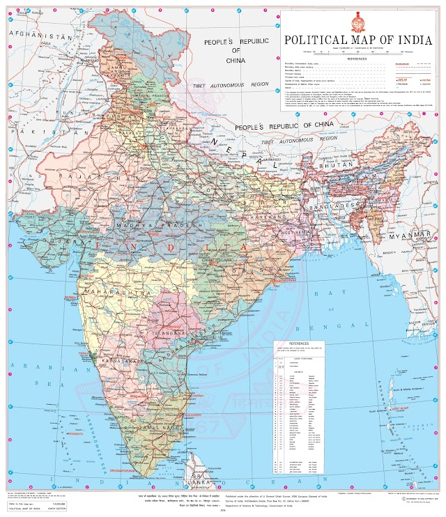 List of Indian States and Union Territories (UTs)  with Capitals