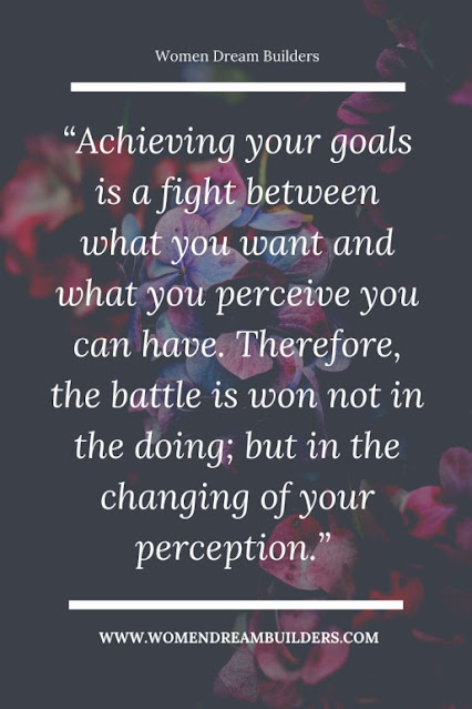 change your perspective to achieve your goals