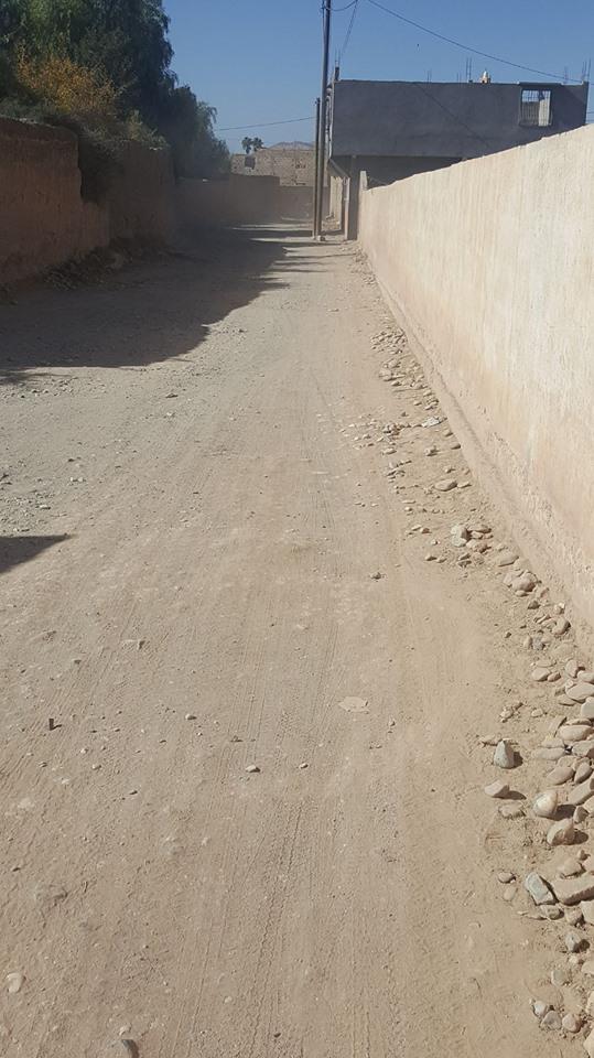 الجهوية 24- - الطريق إلى دوار البرج بلدية أولادبرحيل .. منكم الصورة و منكم التعليق ..