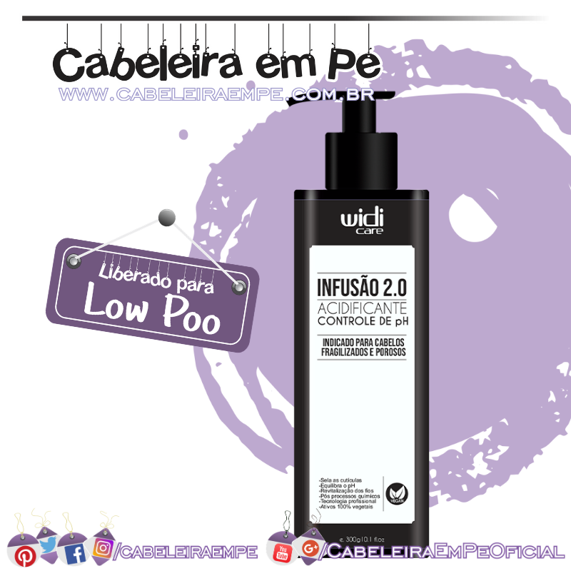 Infusão 2.0 Acidificante - Widi Care (Low Poo)