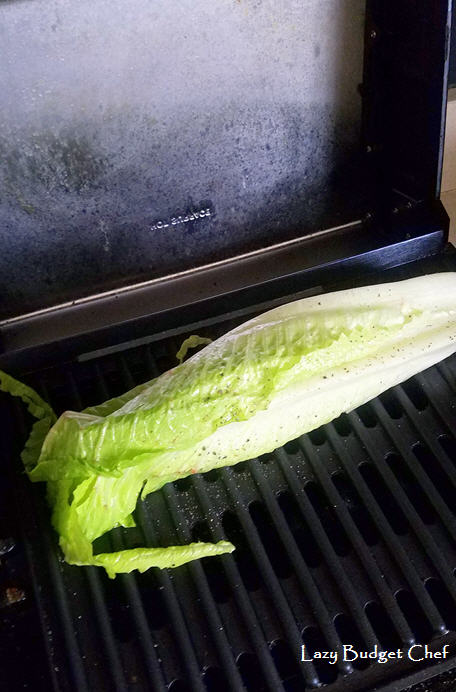 grilled romaine lettuce hearts recipe