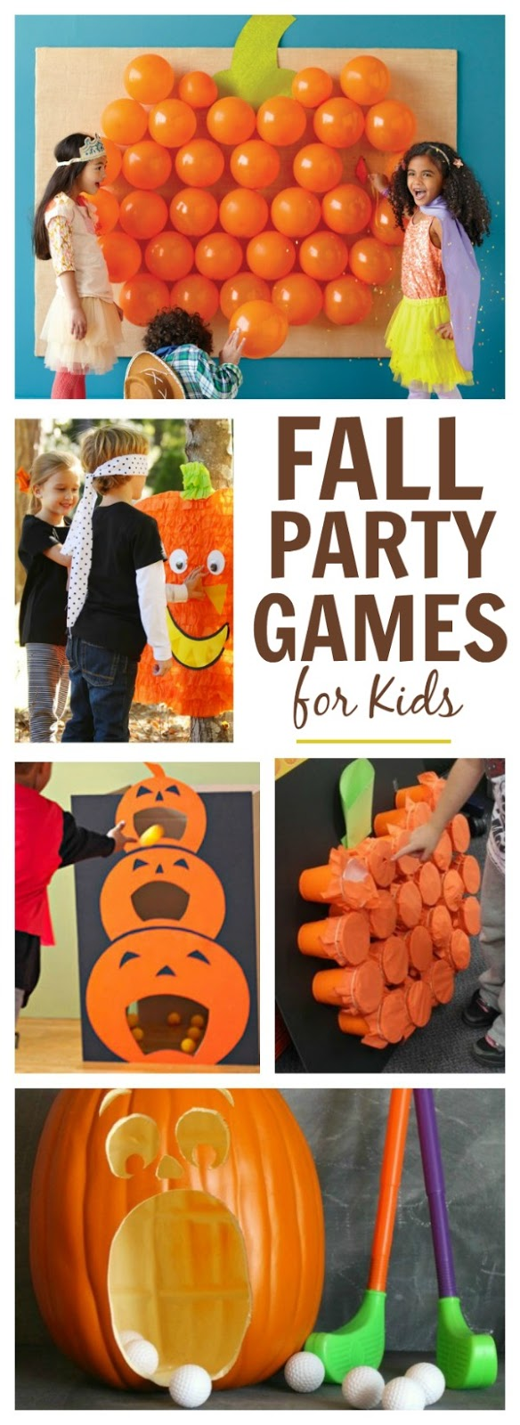 FALL PARTY GAMES FOR KIDS- cute ideas!