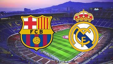 مباراة الكلاسيكو برشلونة وريال مدريد الجولة السابعة من الدوري الاسباني 2020