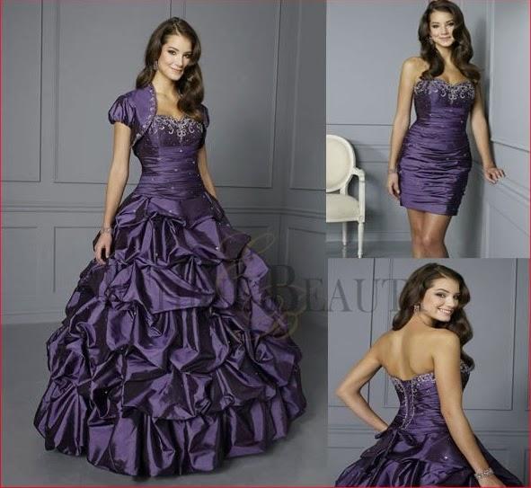 bb2809f6f TODA MUJER ES BELLA  Fotos de vestidos de 15 años desmontable
