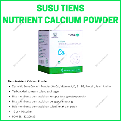Susu Tiens Nutrient Calcium Powder