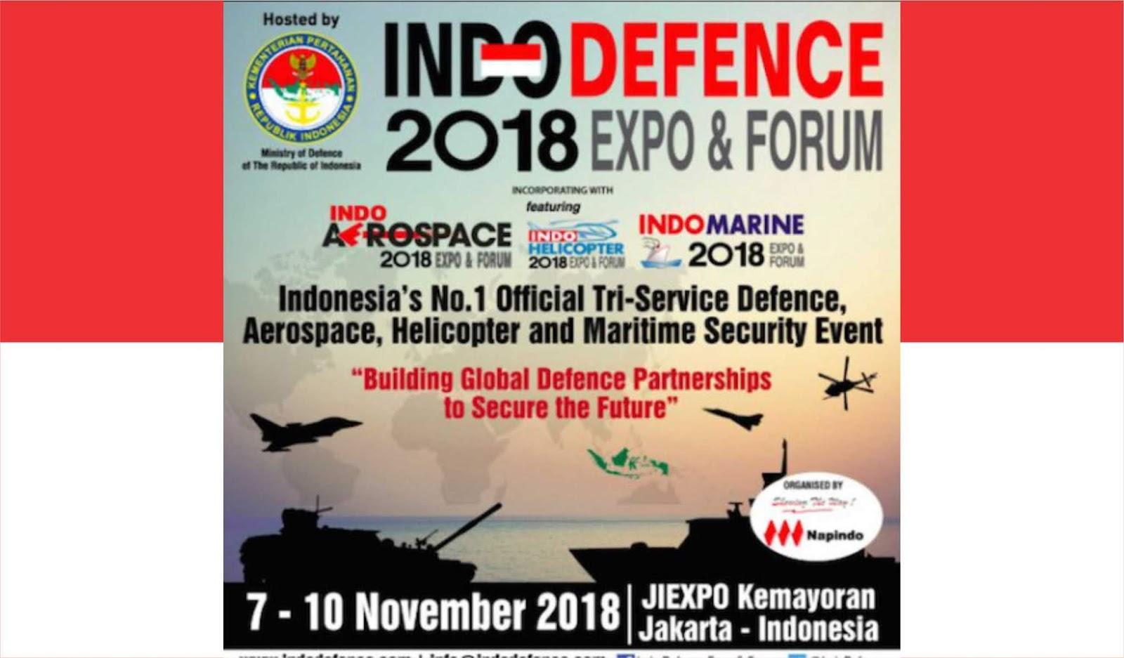 Indo Defence 2018 Expo & Forum saatnya untuk swasta menampilkan produknya
