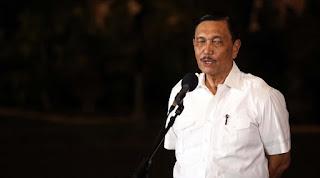 Opung Luhut Beberkan Sejumlah Alasan Mengapa Presiden Jokowi Lengket Sekali dengan China