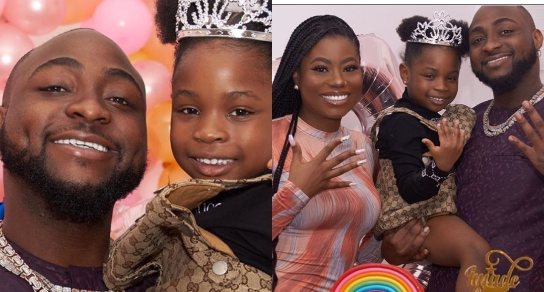 Beautiful photos from Davido's first child, Imade's 5th birthday party - MIMI'S BLOG