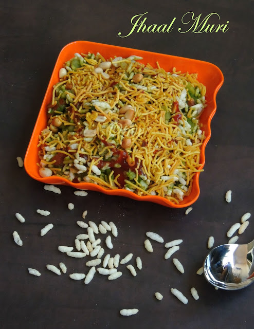 Spicy puffed rice, Jhal Muri, Jhaal Muri