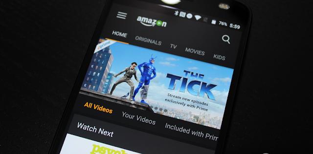 7 Aplikasi Terbaik untuk Menonton Anime di Android - 6.AmazonPrimeVideo