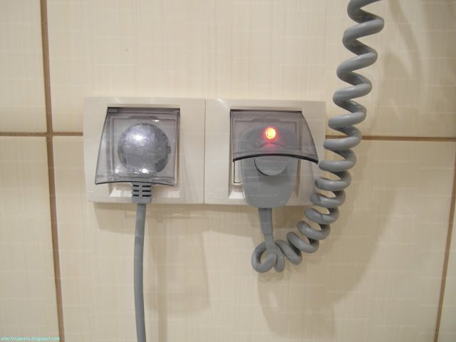 Розетки в ванной Unica IP44