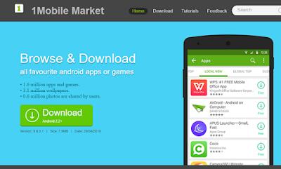 aplikasi gratis di 1mobile market
