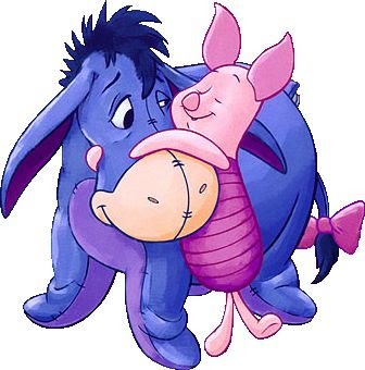 the pooh: Piglet and eeyore pictures