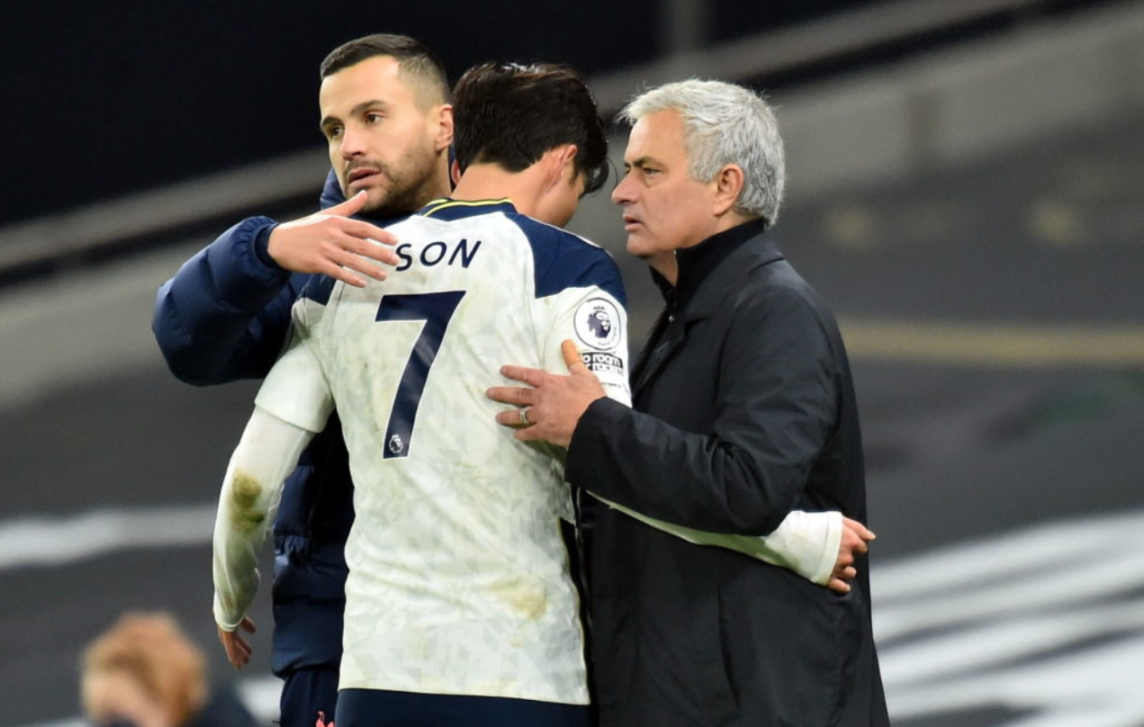 Jose Mourinho's Tottenham are in fine form