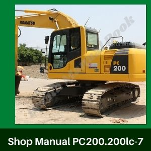 Shop Manual Komatsu pc200-7 pc200lc-7 pc220-7 pc220lc-7