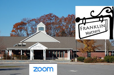Franklin Matters - Questions and Answers via Zoom - Oct 21