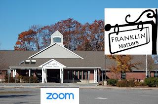 Talk Franklin Matters - RESCHEDULED - Oct 29 - 2:00 PM