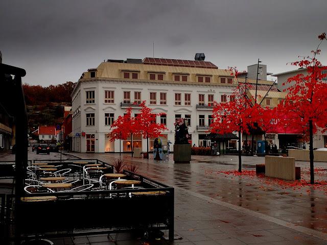 Ścisłe centrum Sandefjord
