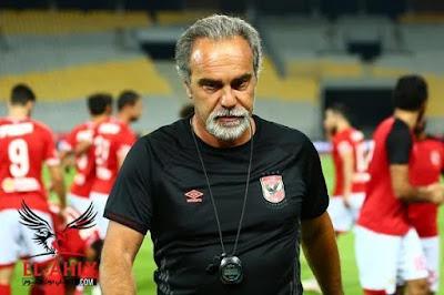 تعرف على حقيقة إقالة لاسارتي من تدريب الأهلي بعد الخسارة فى كأس مصر