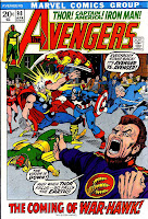 Avengers v1 #98 marvel comic book cover art by Barry Windsor Smith