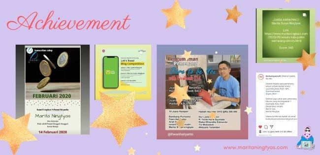 achievement maritaningtyas.com selama 2020