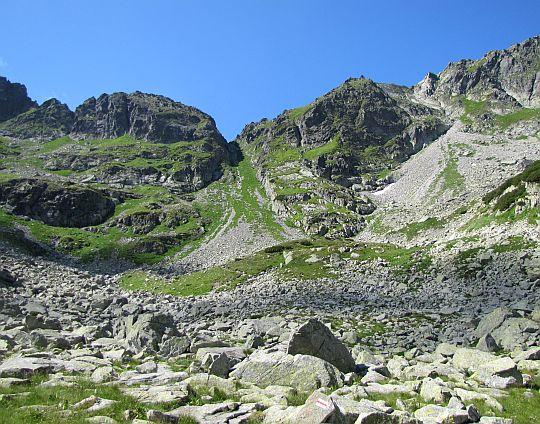 Przełęcz Wrota Chałubińskiego.