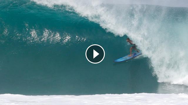 Surfing Puerto Escondido PERFECT Barrels 2021