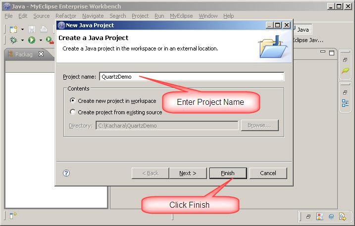 how to create log4j properties file in eclipse