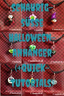 9-verschiedene-handmodellierte-Halloweenanhänger-mit-Blogtitel:schaurig-süße-Halloweenanhänger-(+Quicktutorials)