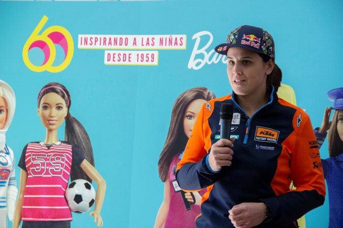 Laia Sanz se une a la lucha de Barbie contra el Dream Gap