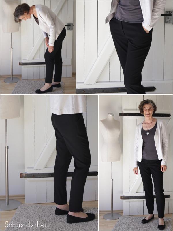 Die richtige Hosenlänge finden