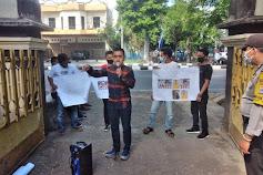 Gelar Aksi Tahap II, Perank NTB Kembali Tuntut Pemecatan Ketua DPRD Kabupaten Bima