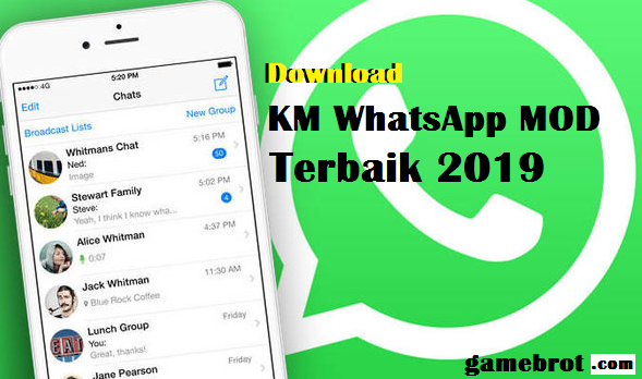 Download KM WhatsApp MOD APK v7.94 [ANTI BANNED] Terbaru Juni 2019 Gratis