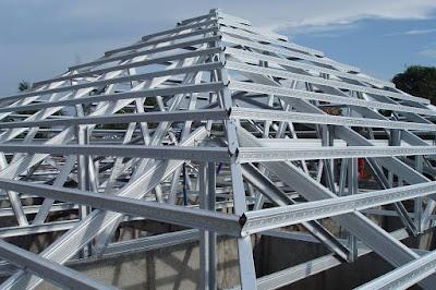 Pemasangan Rangka Atap Baja Ringan untuk Rumah