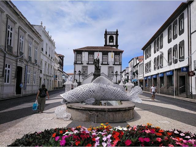Plaza del Ayuntamiento en Ponta Delgada