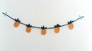 guirlande pasteque ananas dinette crochet