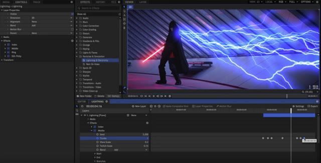 تحميل افضل برنامج مونتاج الفيديو Hitfilm Express للكمبيوتر مجانا