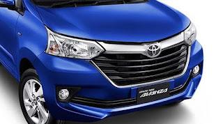 Harga Bemper Mobil Toyota Avanza Tipe E, G, dan Veloz