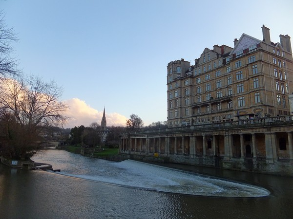 bath avon river