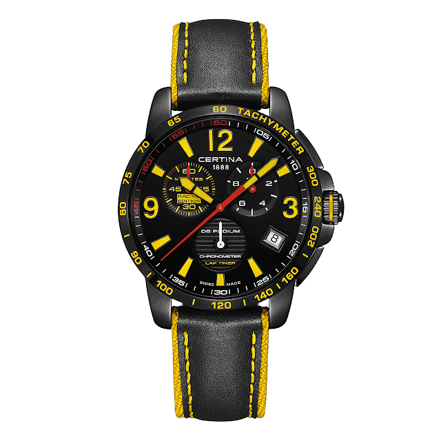 Certina DS Podium Lap Timer Chronograph – Racing Edition Watch