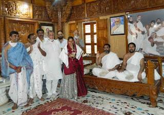 श्री मोहनखेड़ा महातीर्थ में मुमुक्षु सिमरन मांडोत का हुआ बहुमान