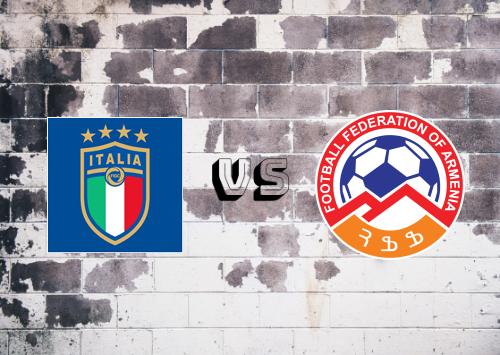 Italia vs Armenia  Resumen y Partido Completo