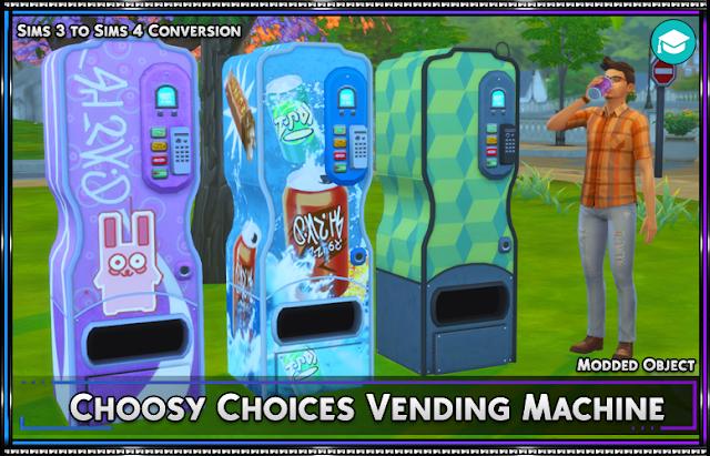 Choosy Choices Vending Machine