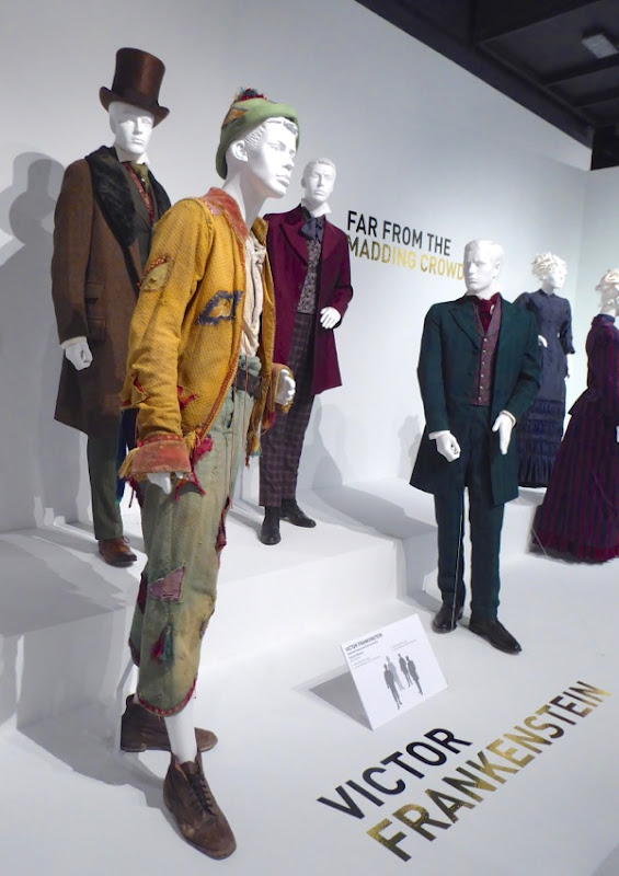 Victor Frankenstein film costumes