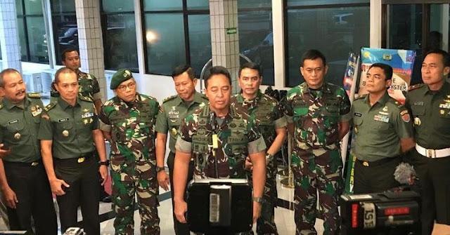Jihar News, Dandim Kendari Dicopot dan Ditahan Karena stri Posting Nyinyir soal Wiranto