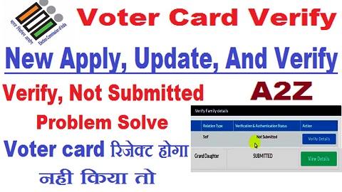 voter card verify online
