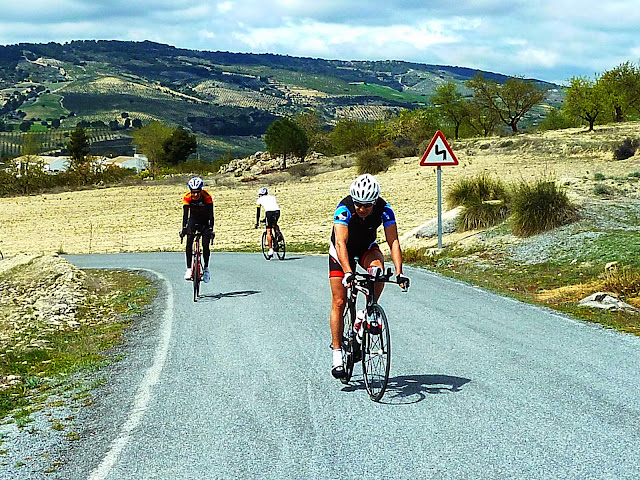 Cycling in Spain's Summer Heat