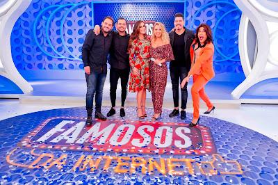Matheus, Henrique, Nadja, Eliana, Diego e Narcisa  (Crédito: Gabriel Cardoso/SBT)